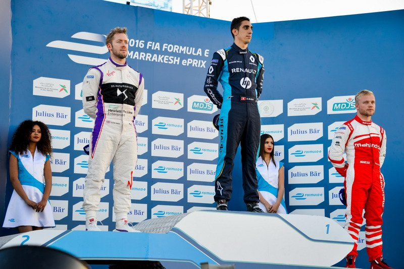 Photo of Sébastien Buemi, imparable en la Formula E, magnífico en Marrakech