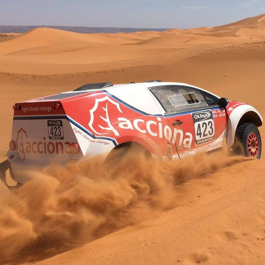 Photo of El Acciona 100% EcoPowered el eléctrico del Dakar 2017