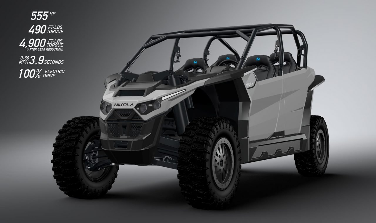 Photo of ¿Qué tal un UTV eléctrico de 555 hp?