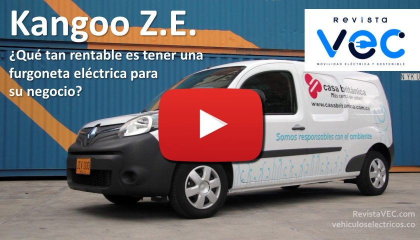 Photo of Renault Kangoo Z.E. ¿Qué tan rentable es una furgoneta eléctrica?