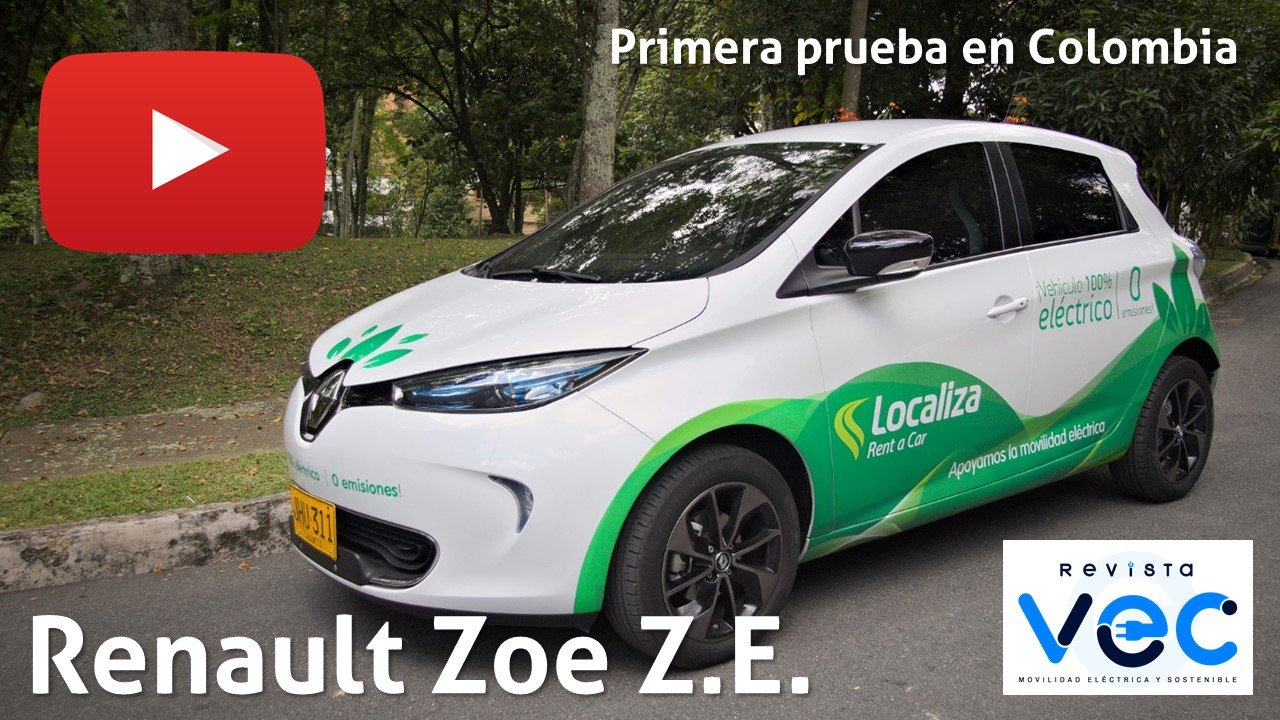 Photo of #Video | Renault Zoe, primera prueba en Colombia