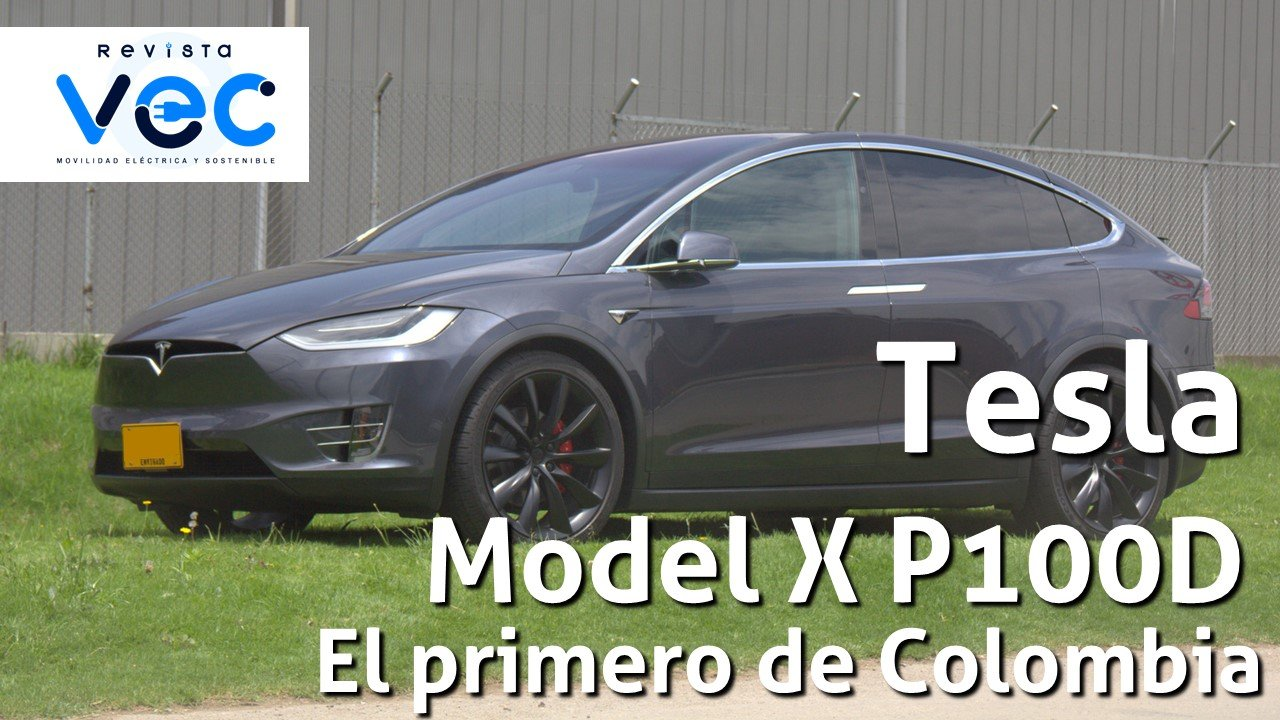 Photo of A bordo del primer Tesla que llegó a Colombia, el Model X P100D