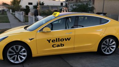Photo of Ahora los taxis de Nueva York son Tesla Model 3