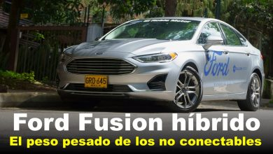 Photo of Ford Fusion híbrido, el peso pesado de los no conectables