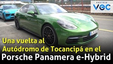 Photo of Porsche Panamera e-Hybrid, sobre el Autódromo de Tocancipá, World Road Show 2019