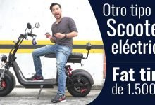 Photo of Scooter eléctrico fat tire, el punto medio entre una moto y una patineta a baterías.